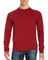 Original Penguin | Red Long Sleeved Raglan Tee for Men | Lyst