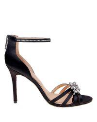 Belle By Badgley Mischka | Black Star Ankle-strap Sandals | Lyst