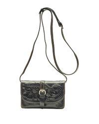 Patricia Nash | Black Torri Leather Crossbody Bag | Lyst