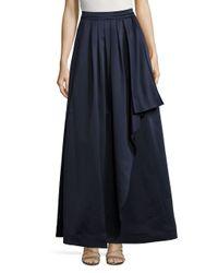 Eliza J - Blue Pleated Skirt - Lyst