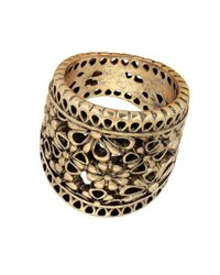 Lucky Brand | Metallic Baltic Wonders Lace Openwork Ring | Lyst
