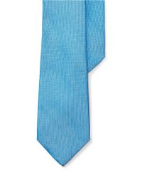 Lauren by Ralph Lauren | Blue Textured Silk Tie for Men | Lyst