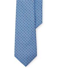 Lauren by Ralph Lauren | Blue Anchor Silk Tie for Men | Lyst