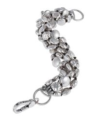 Lucky Brand | Metallic Five Row Coin Bracelet | Lyst