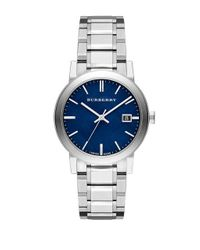 Burberry | Metallic Mens City Silvertone Watch for Men | Lyst
