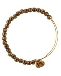 ALEX AND ANI | Metallic Euphrates Beaded Bangle Bracelet | Lyst