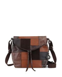 The Sak   Brown Silverlake Leather Crossbody Bag   Lyst