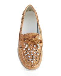 Donald J Pliner | Multicolor Ibiza Cork Loafers | Lyst