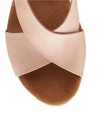 Clarks - Purple Caslynn Shae Wedge Sandals - Lyst