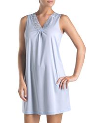 Hanro | Blue Moments Tank Nightgown | Lyst