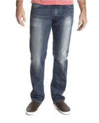 Lucky Brand | 221 Original Straight Blue Gold Wash Jeans for Men | Lyst