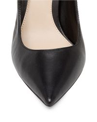 Vince Camuto   Black Norida Leather Pumps   Lyst