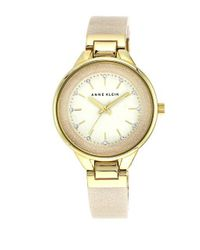 Anne Klein | Metallic Goldtone Bangle Bracelet Watch | Lyst