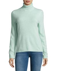 Lord & Taylor | Multicolor Cashmere Turtleneck Sweater | Lyst
