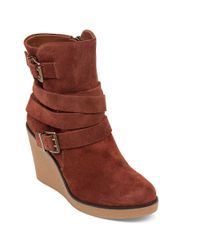 BCBGeneration | Multicolor Finland Leather Wedge Boots | Lyst