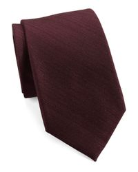 MICHAEL Michael Kors | Purple Silk Blend Tie for Men | Lyst