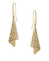 Swarovski | Metallic Fit Small Pierced Earrings | Lyst