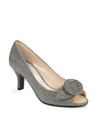 Caparros | Gray Willamena Heels | Lyst