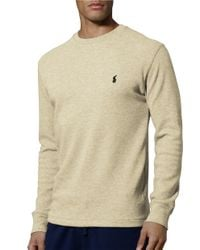 Polo Ralph Lauren   Natural Thermal Top for Men   Lyst