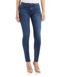 Hudson Jeans | Blue Elysian Nico Mid-rise Skinny Jeans | Lyst