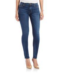 Hudson Jeans | Blue Elysian Nico Mid-rise Skinny Jeans | Lyst