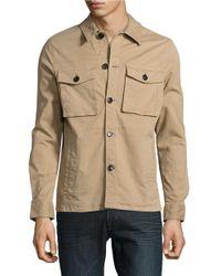 Michael Kors | Natural Lightweight Utility Jacket for Men | Lyst