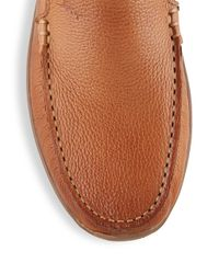 Tommy Bahama | Brown Leather Loafers for Men | Lyst