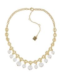 Laundry by Shelli Segal   White Faux Pearl Choker Necklace   Lyst