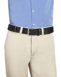 HUGO Black Gorian Woven Belt for men