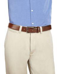 HUGO Brown Ganticus Leather Belt for men