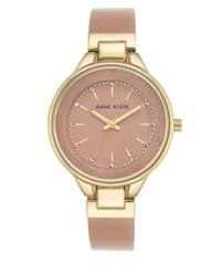 Anne Klein   Pink Gold Shimmer Bangle Bracelet Watch   Lyst