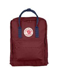 Fjallraven | Red Kanken Classic Backpack for Men | Lyst
