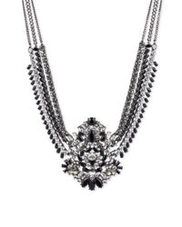 Givenchy - Metallic Swag Crystal Collar Necklace - Lyst
