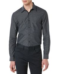 Perry Ellis | Multicolor Big And Tall Pinstriped Sportshirt for Men | Lyst