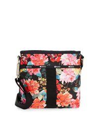 LeSportsac | Red Essential Floral Nylon Crossbody Bag | Lyst