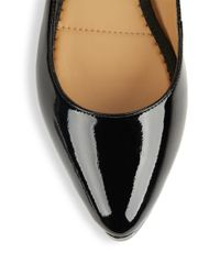 Me Too Black Aimee Patent Leather Flats