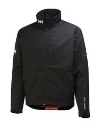 Helly Hansen | Black Crew Midlayer Jacket for Men | Lyst