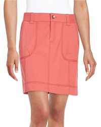 Lord & Taylor | Pink Cargo Skirt | Lyst