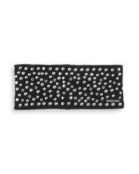 MICHAEL Michael Kors Black Studded Headband
