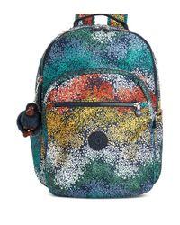 Kipling - Multicolor Patterned Backpack - Lyst