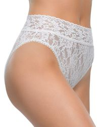 Hanky Panky | White Lace French Briefs | Lyst