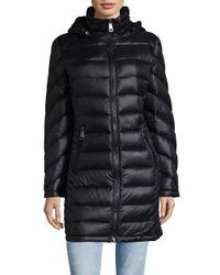 Calvin Klein | Black Petite Zippered Mockneck Jacket | Lyst