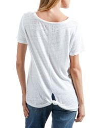 Lucky Brand - White Lucky Graphic Tee - Lyst