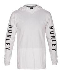 Hurley - White The One Hooded Long Sleeve T-shirt for Men - Lyst