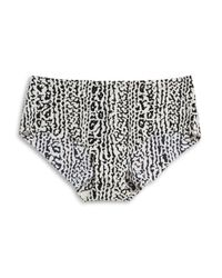Calvin Klein Black Invisibles Printed Hipster Panties