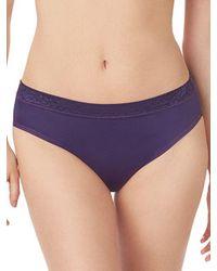 Le Mystere Purple Safari Smoother Bikini