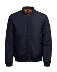 Jack & Jones | Blue Jorlucky Bomber Jacket for Men | Lyst