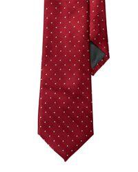 Lauren by Ralph Lauren | Red Pin Dot Silk Tie for Men | Lyst