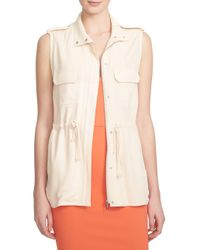 1.STATE - Multicolor Utility Vest - Lyst