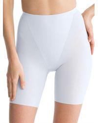 Spanx - Blue Thinstincts Mid-thighshorts - Lyst